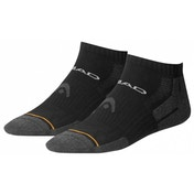 Head Quarter Socks 35/38 Black PK 2