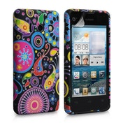 YouSave Accessories Huawei Ascend Y300 Jellyfish Gel Case - Multicoloured