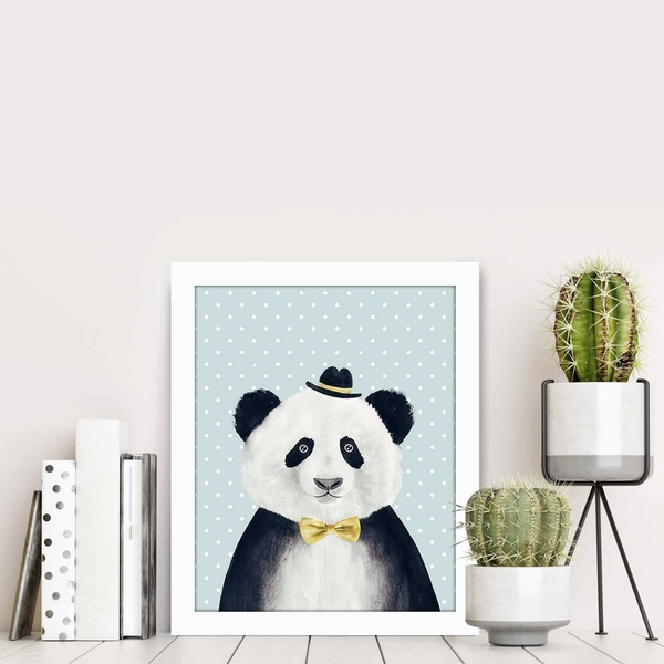BCT-033 Multicolor Decorative Framed MDF Painting