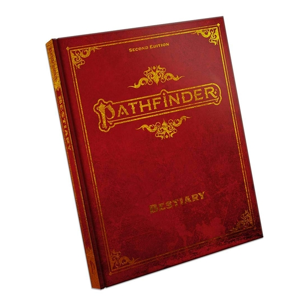 Pathfinder RPG Second Edition Bestiary Special Edition Hardcover