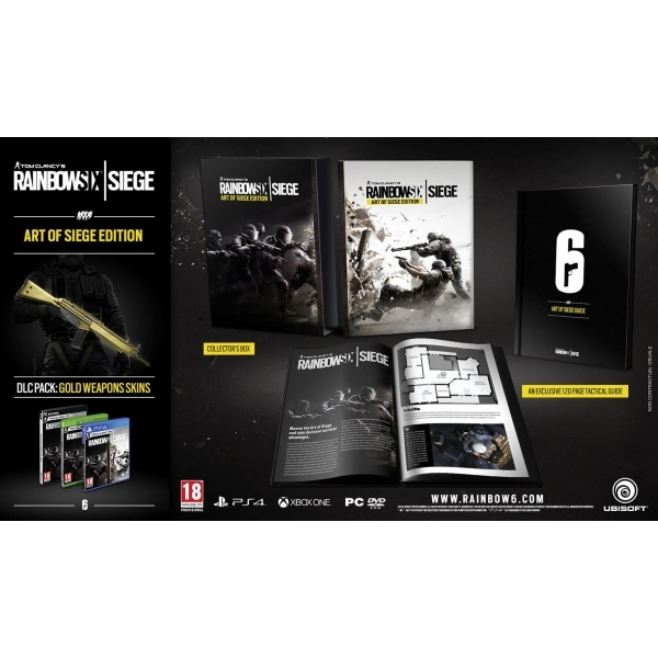 Tom Clancy's Rainbow Six Siege The Art of Siege Edition PC Game - Image 5