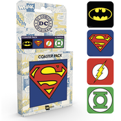 DC Comics Logos Coaster Pack