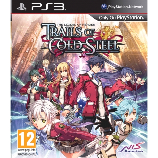 The Legend of Heroes Trails of Cold Steel PS3 Game