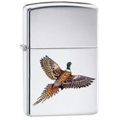 Zippo Pheasant High Polish Chrome Windproof Lighter