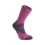 Bridgedale Women's Woolfusion Trekker Socks, Purple - Small