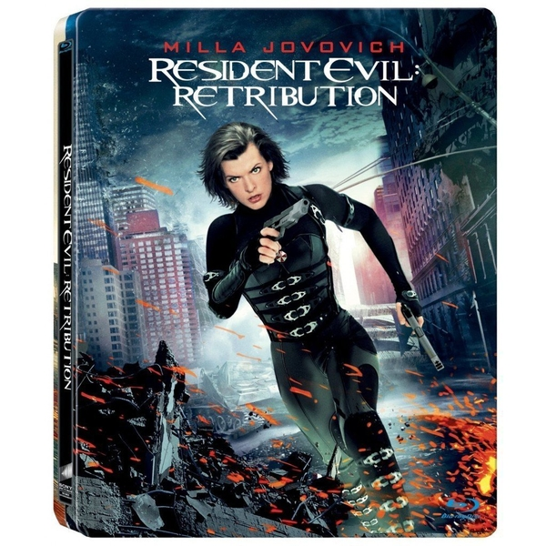 Resident Evil 5 Retribution Steelbook Blu-ray
