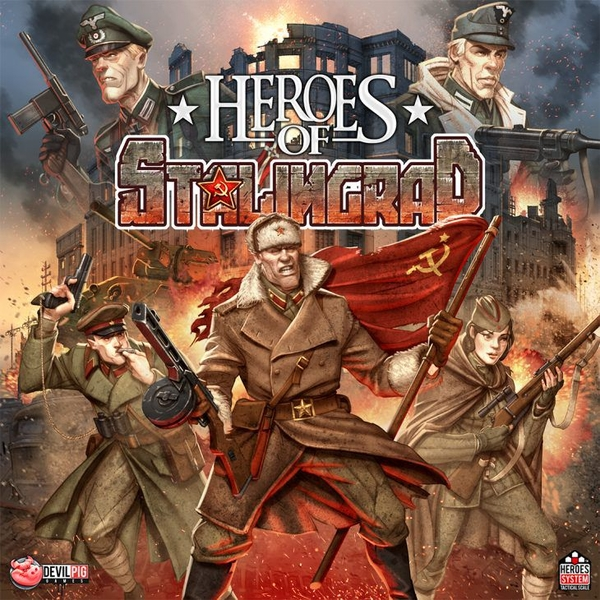 Heroes of Stalingrad Board Game
