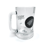 Game Of Thrones - House Stark Glass Stein