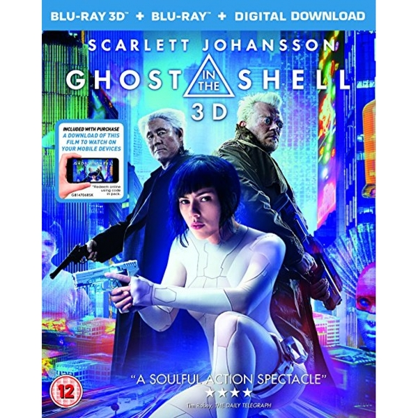 Ghost in the Shell 3D   2D Blu-Ray