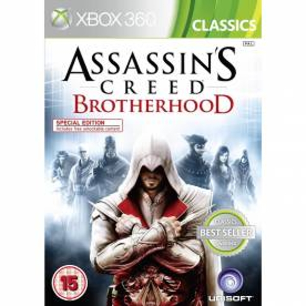 Assassin's Creed Brotherhood (Classics) Xbox 360 Game