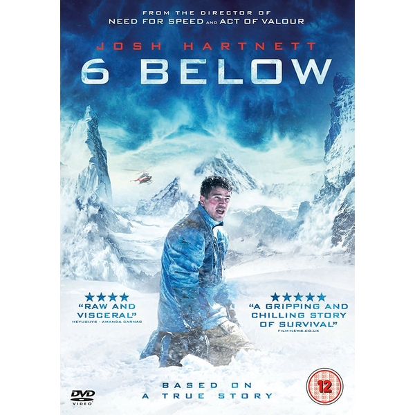 6 Below DVD
