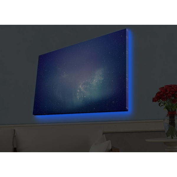 4570HDACT-062 Multicolor Decorative Led Lighted Canvas Painting