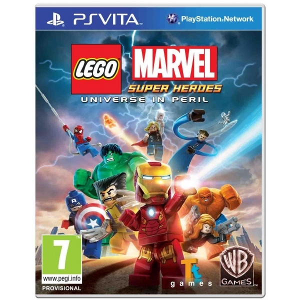 Lego Marvel Super Heroes Universe In Peril Game PS Vita