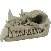 Dragon Skull Realistic Bone  Ornament 14cm