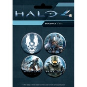 Halo 4 Master Chief Badge Pack