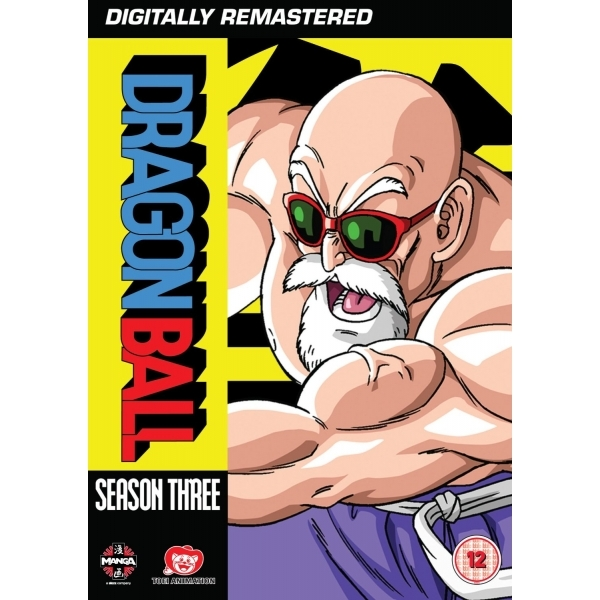 Dragon Ball Season 3 Episodes 58-83 DVD