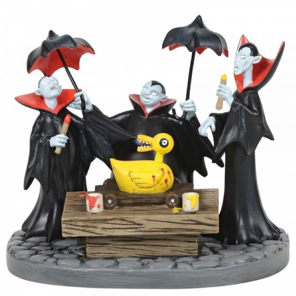 Vampire Brothers Prepare the Duck Figurine