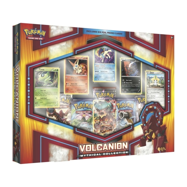 Ex-Display Pokemon TCG Volcanion Mythical Collection Used - Like New