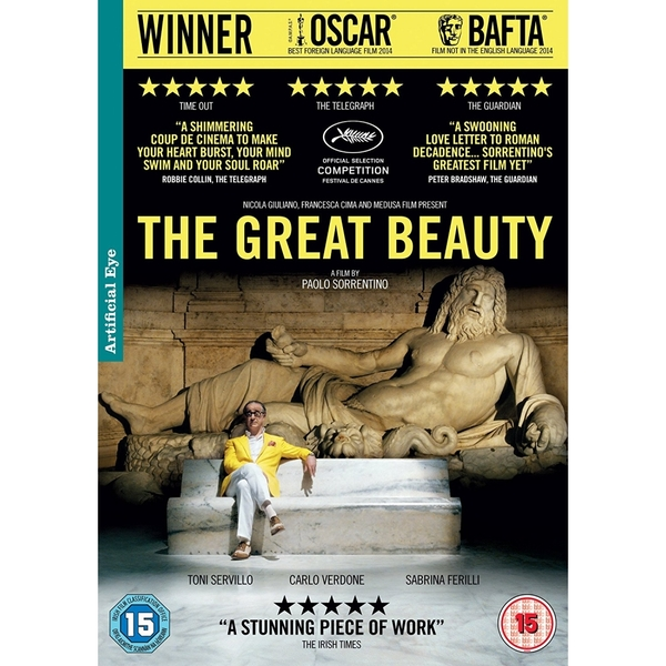 The Great Beauty DVD