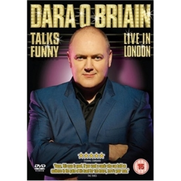 Dara O Briain Talks Funny: Live In London - 2008 DVD