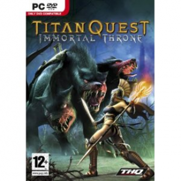 Titan Quest Immortal Throne Game PC