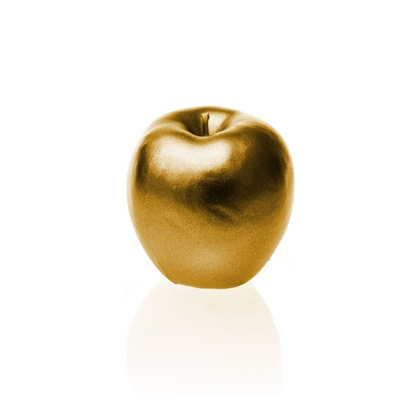 Gold Apple Candle