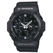 G-Shock Alarm Chronograph Watch (Black)