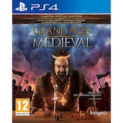 Grand Ages Medieval Limited Special Edition PS4 Game