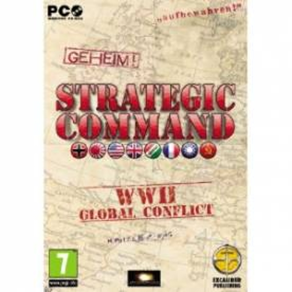 Strategic Command WW2 Global Conflict Game PC
