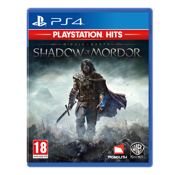 Middle-Earth Shadow of Mordor PS4 Game (PlayStation Hits)
