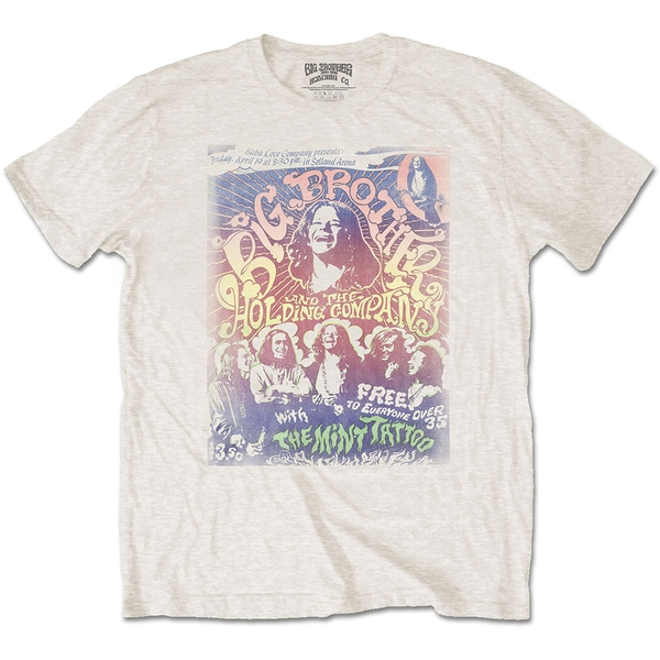 Big Brother & The Holding Company - Selland Arena Unisex Small T-Shirt - Neutral