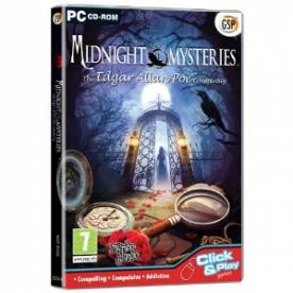 Midnight Mysteries The Edgar Allan Poe Conspiracy Game PC