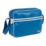 Lonsdale 2 Striped Flight Bag Blue