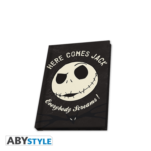Disney - The Nightmare Before Christmas / Jack Skellington Glow In The Dark A6 Notebook