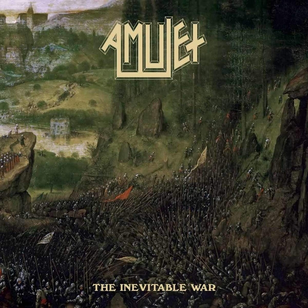 Amulet - The Inevitable War Translucent Green  Vinyl