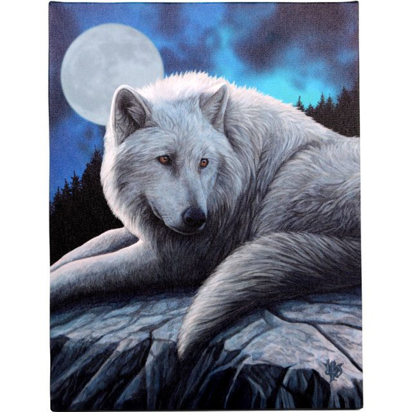 Small Guardian Of The North Canvas Picture by Lisa Parker
