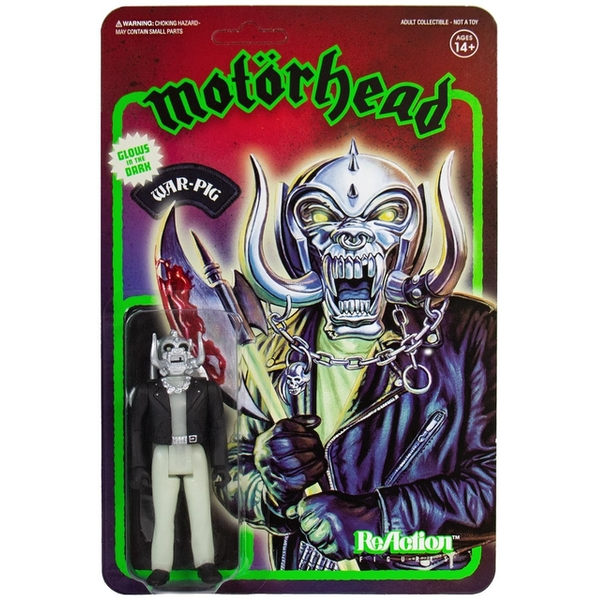 Warpig Glow in the Dark (Motorhead) ReAction Figure