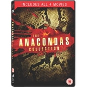 Anaconda 1 - 4 Box Set DVD