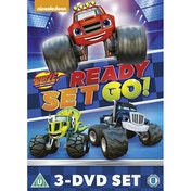 Blaze and the Monster Machines: Ready, Set, Go Collection DVD