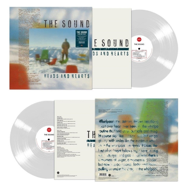 The Sound - Heads And Hearts Clear Vinyl