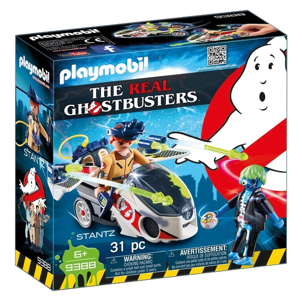 Playmobil Ghostbusters Stantz with Skybike - Image 1