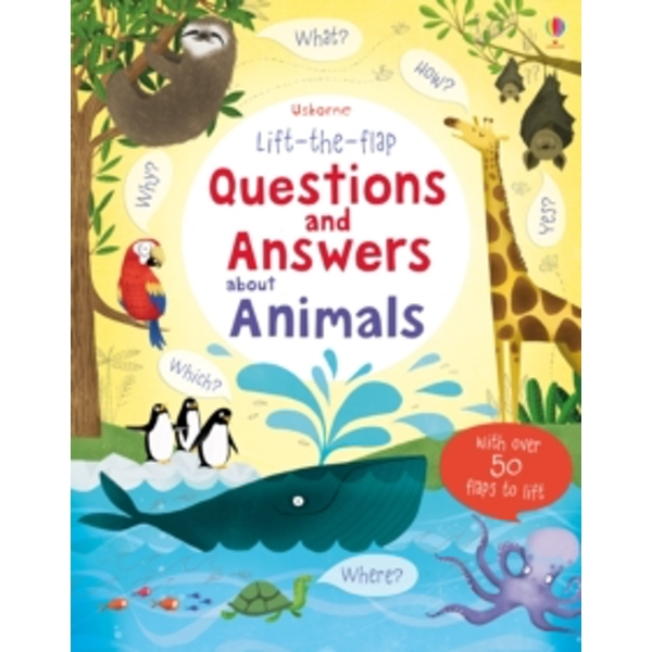Lift-the-flap Questions and Answers About Animals by Katie Daynes (Hardback, 2014)