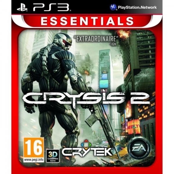 Crysis 2 PS3 Game (Essentials)