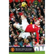 Manchester United Rooney Goal Maxi Poster