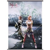 Final Fantasy XIII Part 2 - Lightning & Serah Farron Wall Scroll