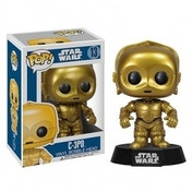 C-3PO (Star Wars) Funko Pop! Vinyl Bobble-Head Figure (Ex-Display) Used - Like New