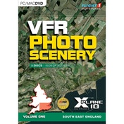 VFR Photographic Scenery For X-Plane 10 Volume 1 South East England PC & Mac