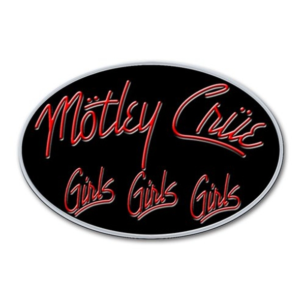 Motley Crue - Girls, Girls, Girls Pin Badge