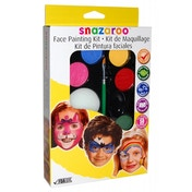 Snazaroo Bright Face Unisex Painting Kit