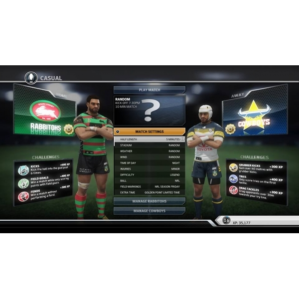 Rugby League Live 3 Xbox 360 Game - Image 5